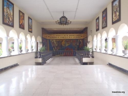 Big hallways...