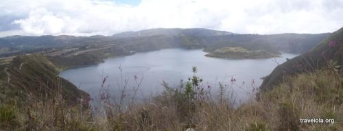 Lake Cuicocha, Ecuador