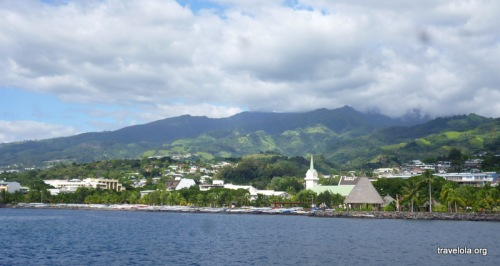 First views of Papeete