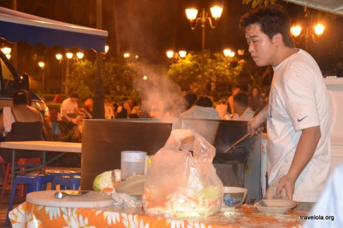 Cooking up a street food feast