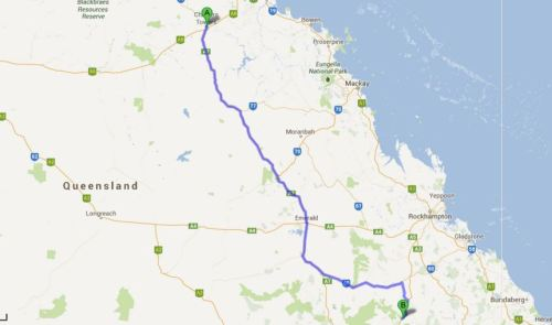 Queensland Roadtrip Day 9: Charters Towers - Isla Gorge National Park (892km)