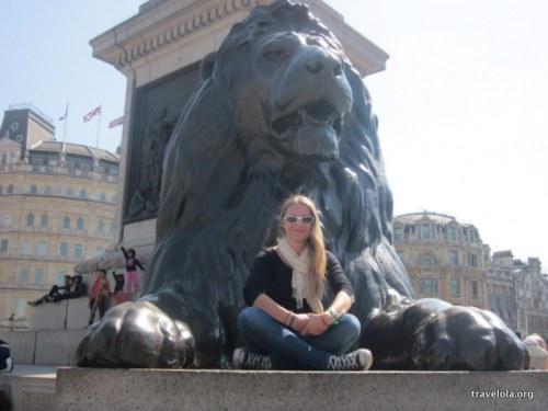 Trafalgar Square cliché?