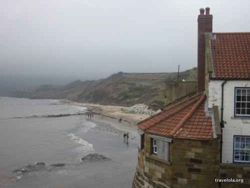 A moody day at Robin Hood's Bay...