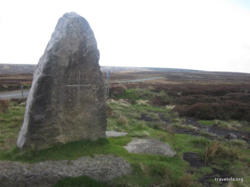 The Millennium Stone, 'a monolith set up to mark the beginning of the new millennium'