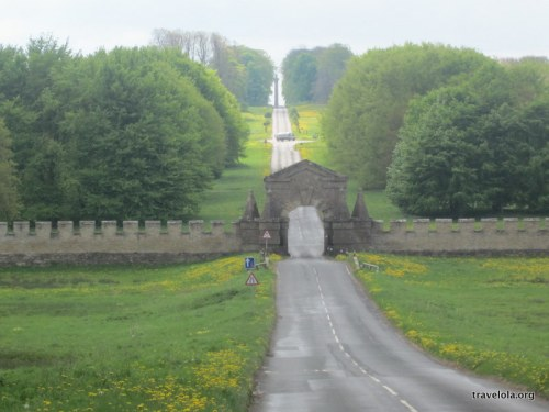 Roman roads near Castle Howard