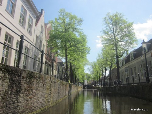 Seeing Amersfoort, Netherlands from the water