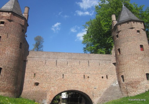 Sturdy water gate entrances, Amersfoort, Netherlands