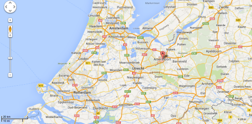 In geographical context: the historic, medieval city of Amersfoort