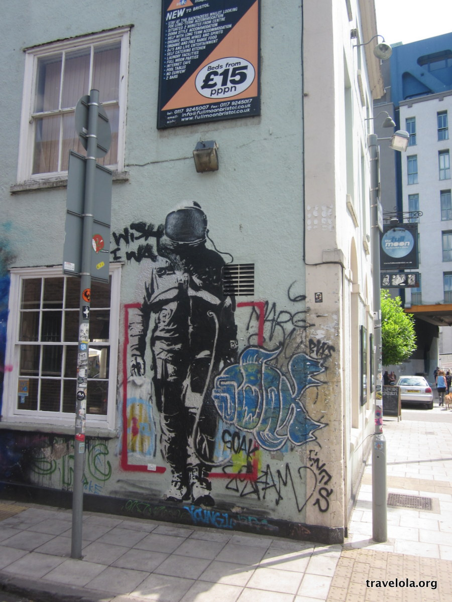 Back in England and still on the Banksy trail, this time ...